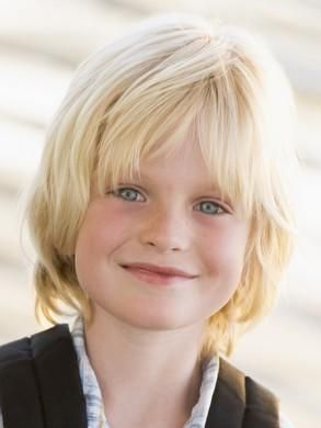 shaggy hairstyles for children boys blond  fav images