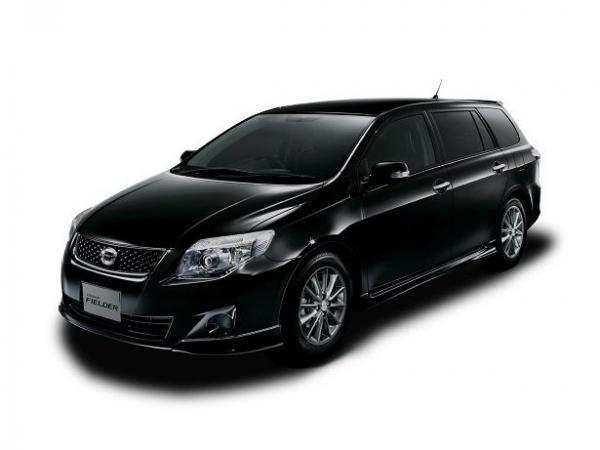 Toyota Corolla Cars Black Toyota Corolla Fielder Car