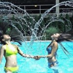funny, amazing, pictures and images, fun, girls, swimming pool