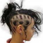 most, unusual, hairstyles, haircut, girl