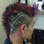 most, unusual, hairstyles, haircut, punk