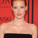 2013 Jessica Chastain, hairstyle, makeup, actress, photos