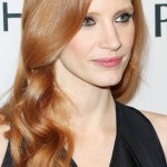 2013 Jessica Chastain, hairstyle, makeup, actress, pics