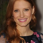 2013 Jessica Chastain, makeup, hairstyle, actress