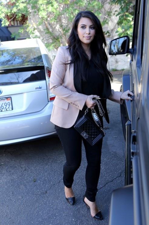 2013 Kim Kardashian Jacket Celebrity Street Style Pics Fav Images Amazing Pictures