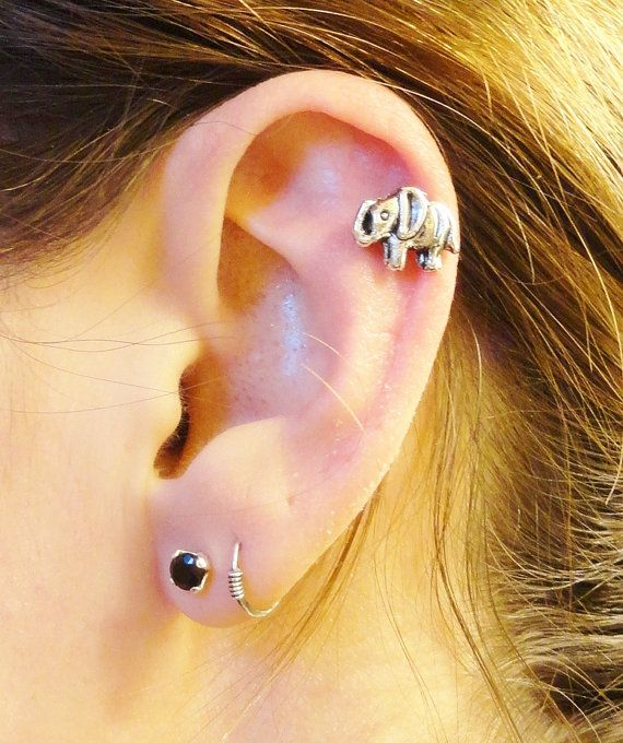 helix piercing  body  for girls  woman  idea 3