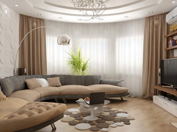 Ремонт гостиной дизайн своими руками