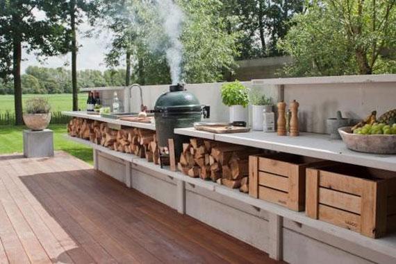 Outdoor summer kitchen interior design 36 fav images for Design outdoor kitchen online