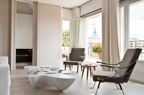 Pastel apartment in Paris, interior, design 3 | Favimages.