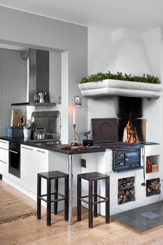peasants, scandinavian, kitchen, interior, design, idea 23 ...
