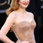 photos, 2013 Jessica Chastain, hairstyle, makeup