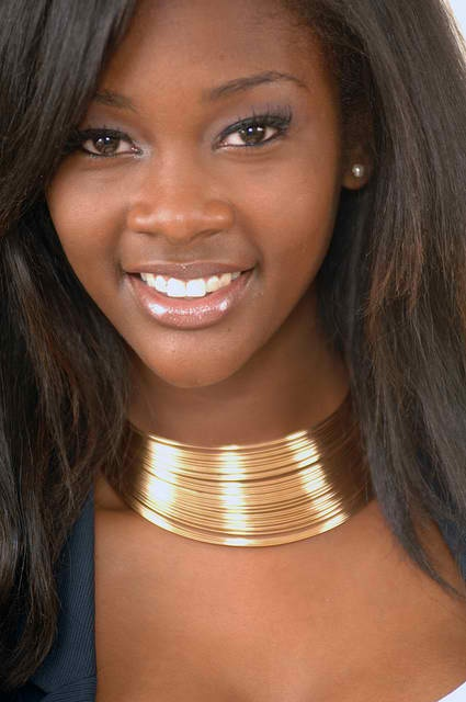 Beautiful Black Woman Pretty Attractive Smile Fav