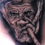 best tattoos ever, images, man, cigar smoking