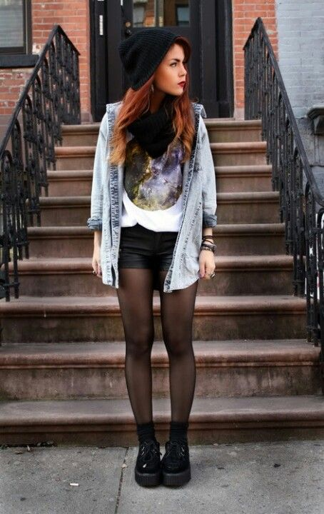 grunge fashion, style, design, clothing, photo