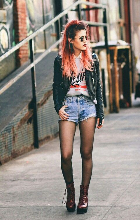 grunge fashion, style, design, outfit, photo