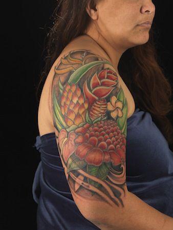 Hawaiian tattoos designs style images fav images for Hawaiian style tattoos