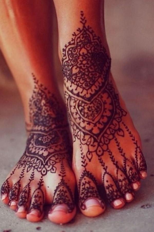 henna tattoo ideas foot art design fav images