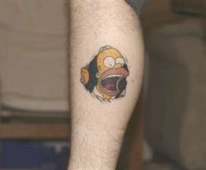 homer simpson tattoo designs fav images amazing pictures. Black Bedroom Furniture Sets. Home Design Ideas