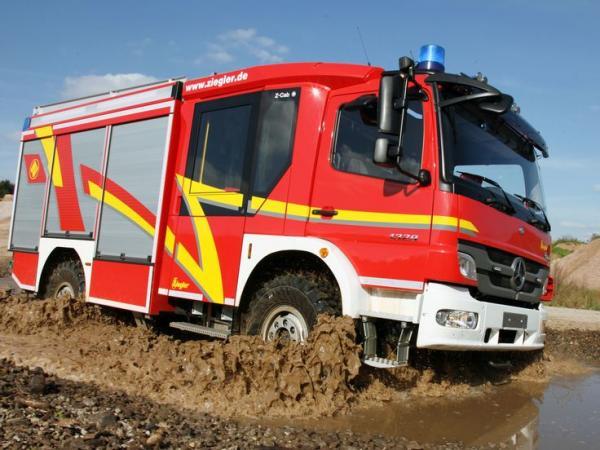 mercedes atego, truck, vehicle, big, image