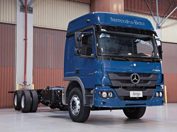 mercedes atego, truck, vehicle, big, pics