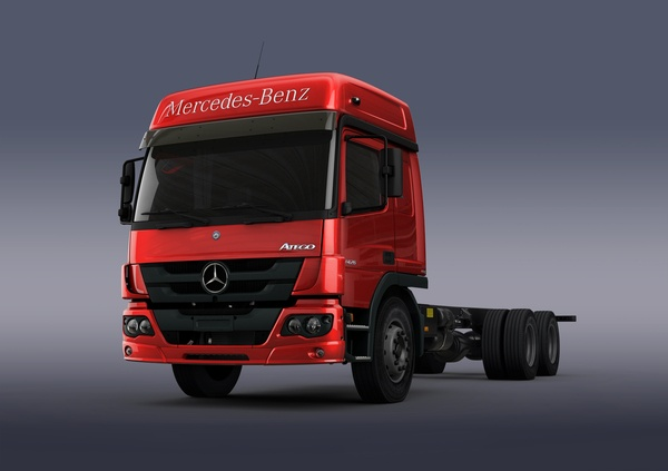 mercedes atego, truck, vehicle, big