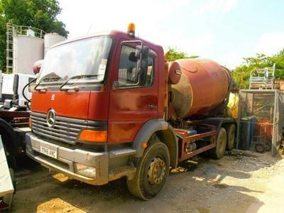 mercedes atego, truck, vehicle, photoshoot