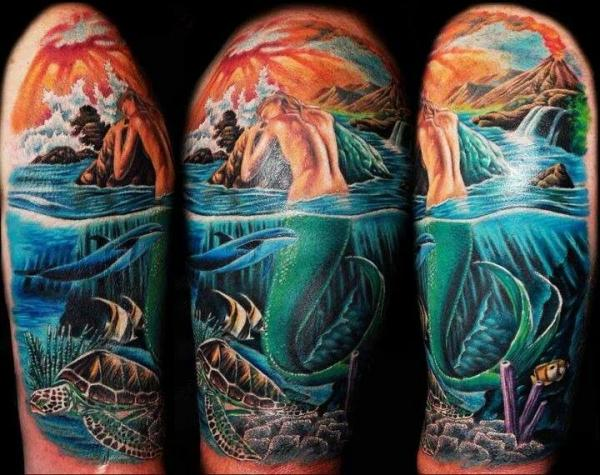 Tato Art Styles: Mermaid Tattoo, Styles, Cool, Design, Art