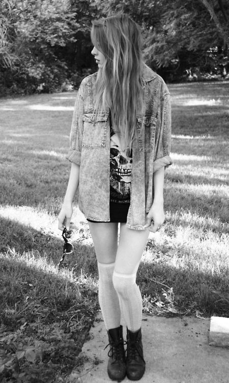 Rock Fashion Clothes Outfit Girls Photoshoot Fav Images Amazing Pictures
