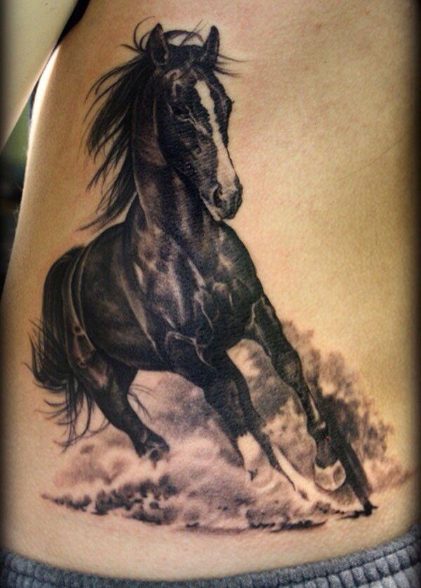 Running horse tattoos designs pictures fav images for Running horse tattoo