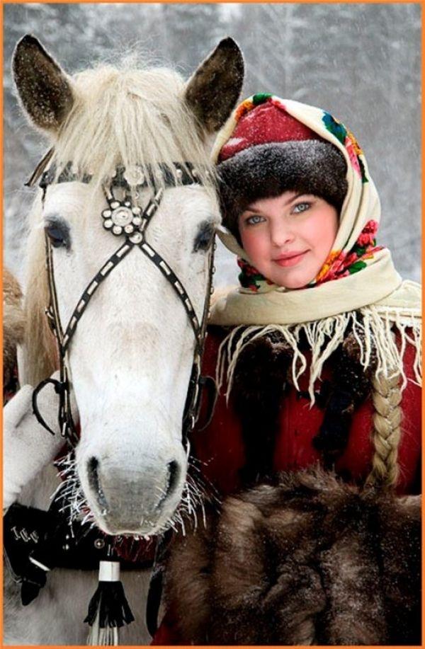 С русской девицей 21 фотография