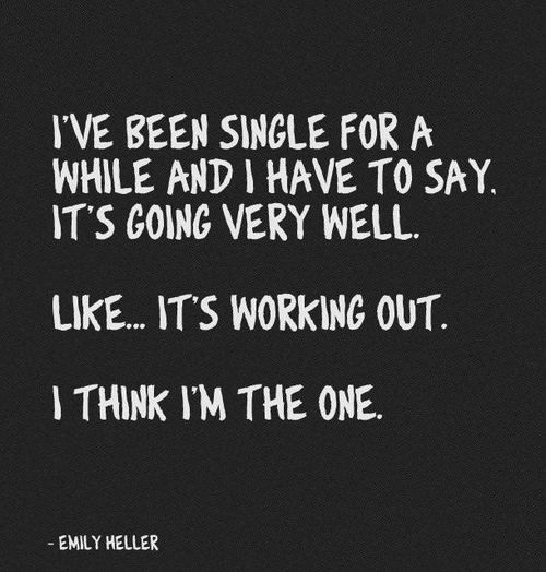 single girl sayings and quotes