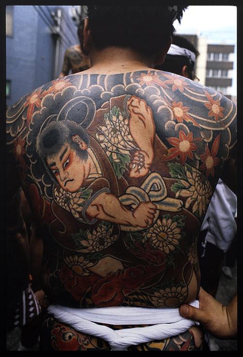 Yakuza Full Body Tattoo yakuza tattoos, full b...