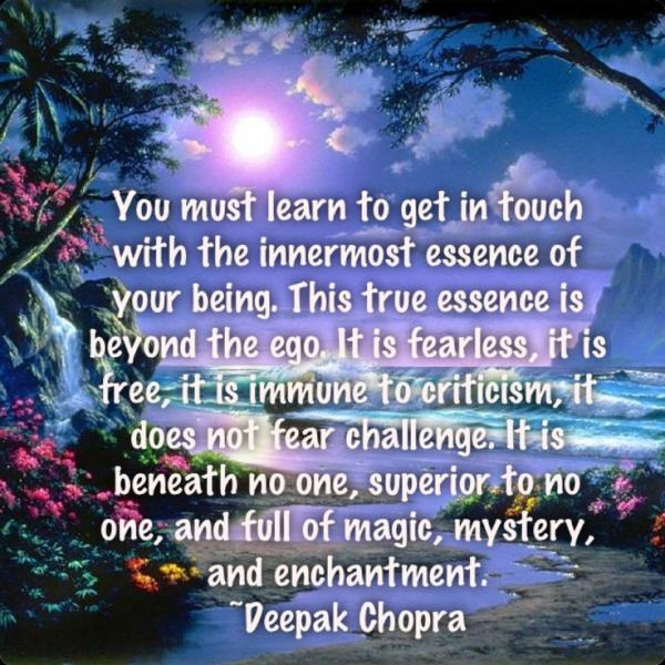Deepak Chopra Quotes, Best, Famous, Sayings, Your Being