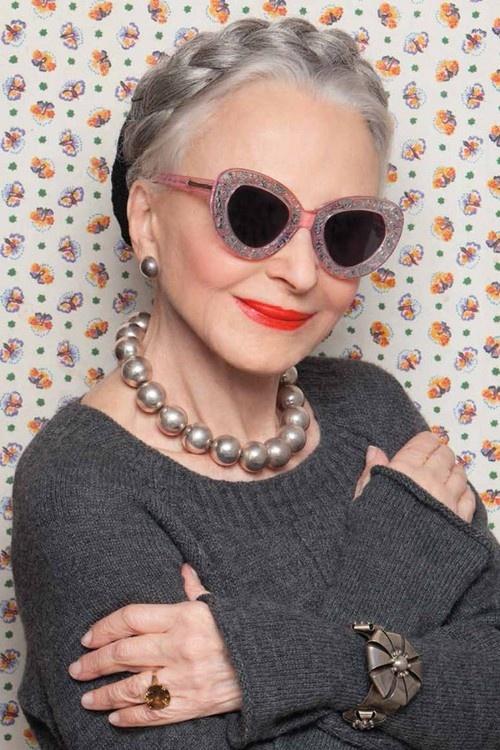 Designer Sunglasses Cool Old Woman Fav Images