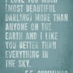 ee cummings quotes, wise, meaningful, sayings, pretty