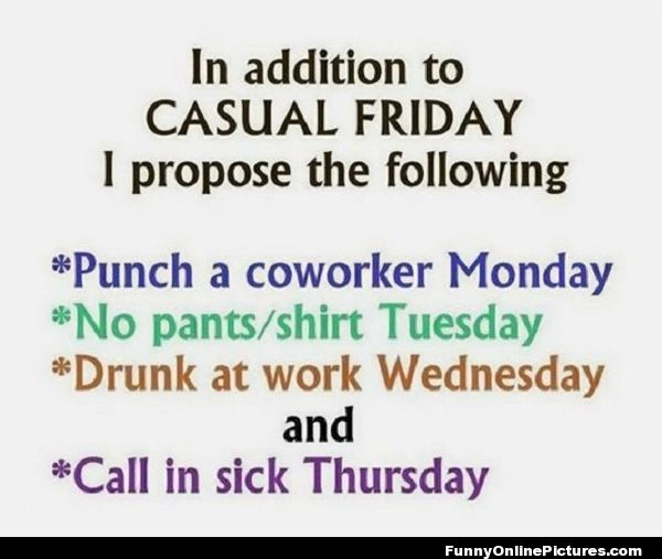 Friday Funny Funny Friday Quotes Best