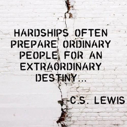 life hardships make you stronger