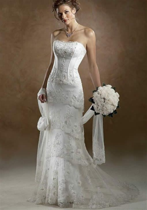 western wedding dresses fashion style woman pics fav