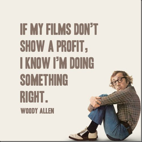 Best Woody Allen Quotes, deep, funny, humor