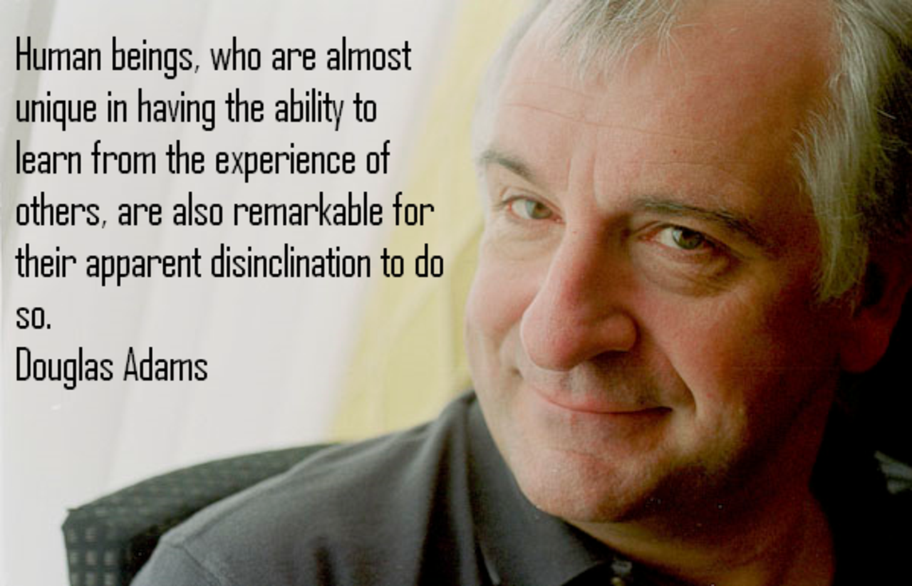 Douglas Adams Quotes and Sayings, photo