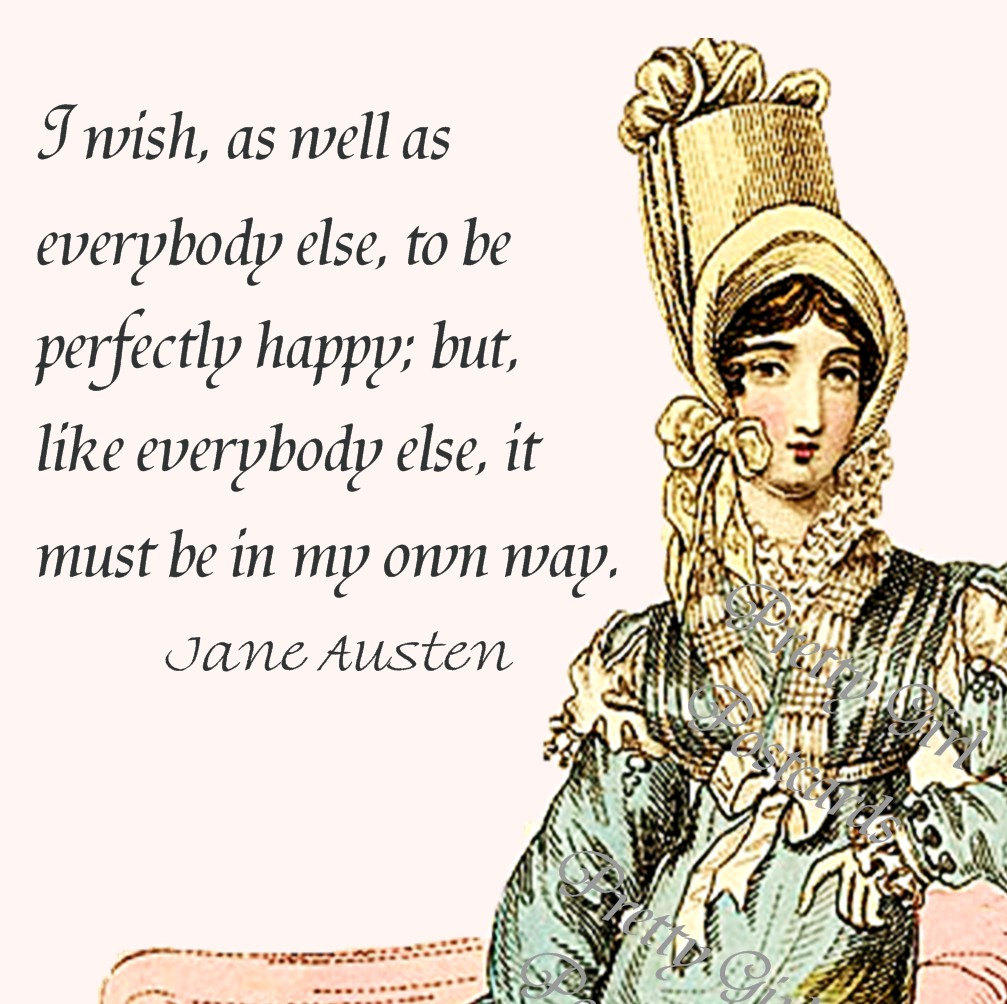 Jane Austen Quotes and Sayings, happiness, cute