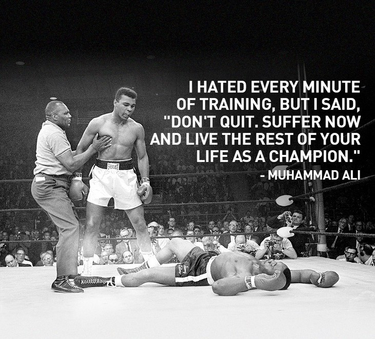 Muhammad Ali Quotes and Saying, motivational