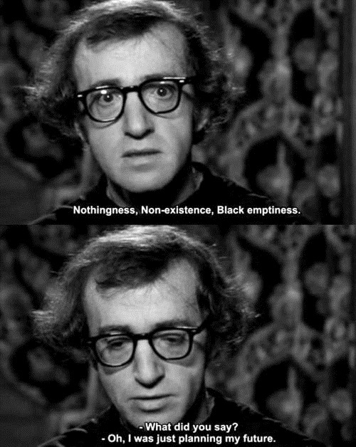 Woody Allen Quotes, sayings, meaningful, best