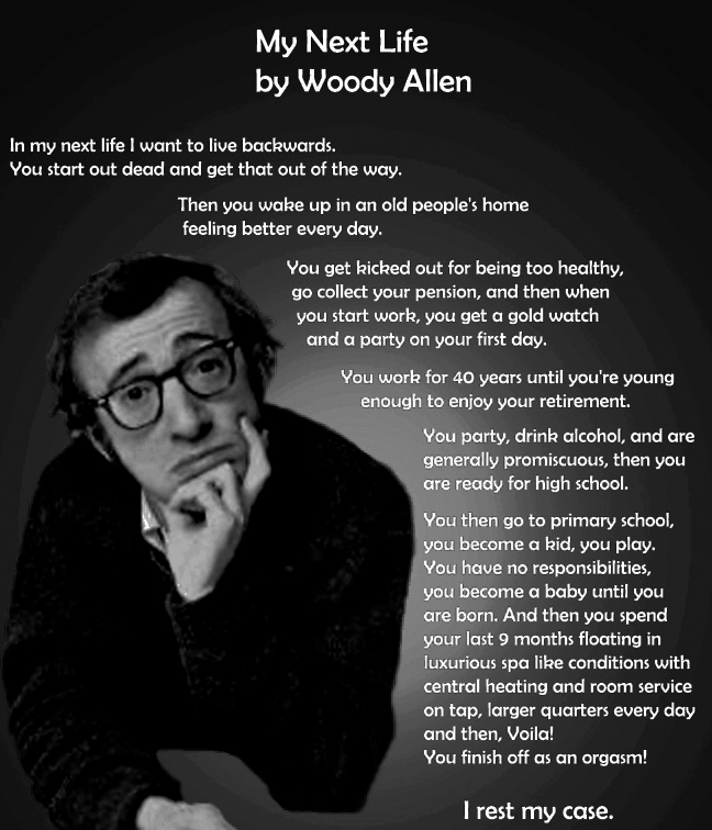 Woody Allen Quotes, sayings, meaningful, deep