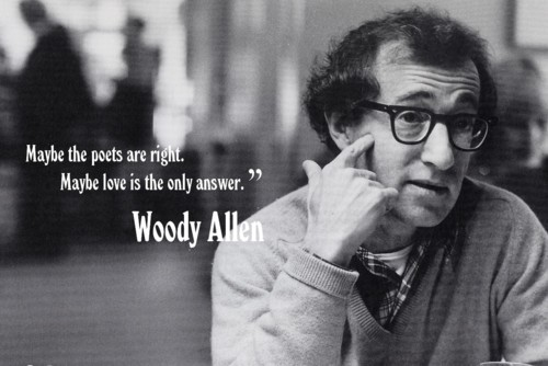 Woody Allen Quotes, sayings, meaningful