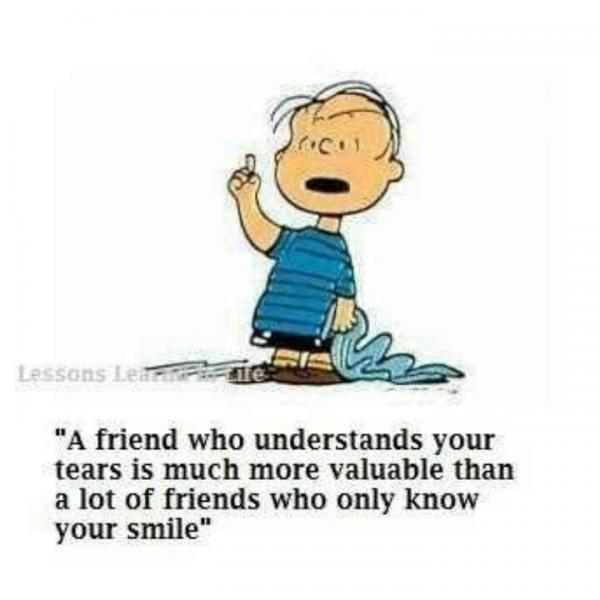 Charlie Brown Quotes Funny Cartoon Sayings Friend Fav