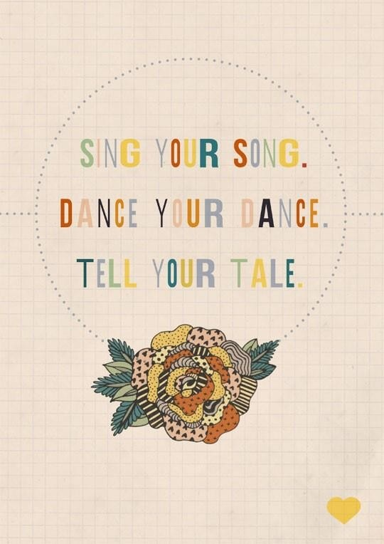 daily positive quotes, best, cool, sayings, sing