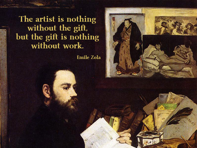 emile zola quotes, sayings, famous, wise, work