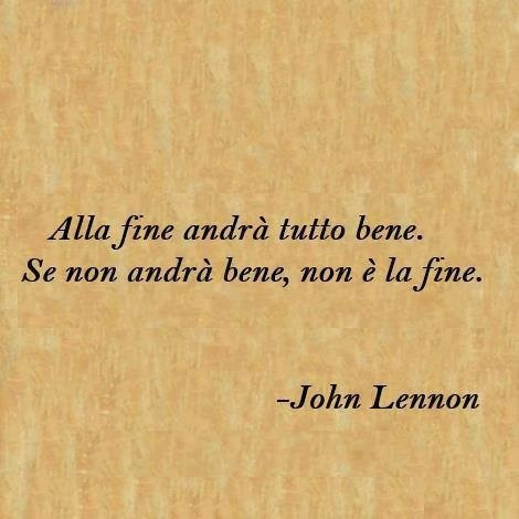 italian quotes, best, wise, sayings, john lennon | Favimages.