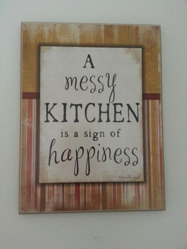 kitchen quotes, positive, sayings, best, happiness